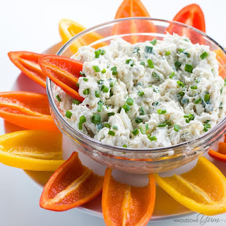 Cold Crab Dip Recipe with Cream Cheese (Low Carb, Gluten-free).
