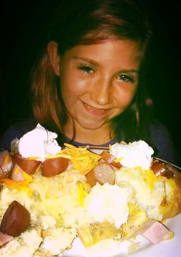 Potato, Ham, Cheese, Sauerkraut, Polish Sausage