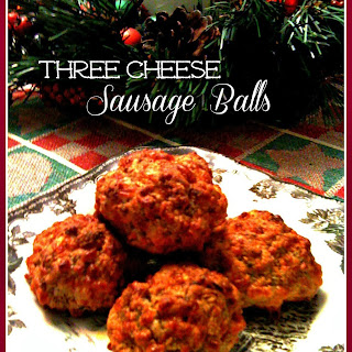 3 Cheese Sausage Balls!