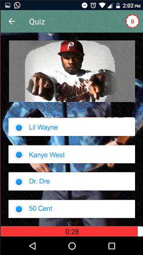Guess the Rapper Trivia Quiz