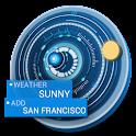 animated digital dashboard ☣ icon