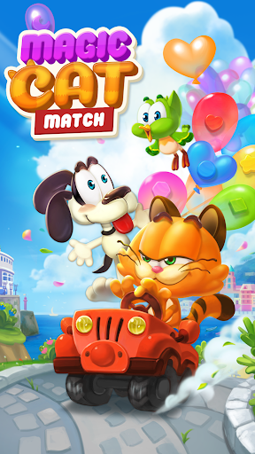 Magic Cat Match : Swipe & Blast Puzzle 1.0.7 app download 5