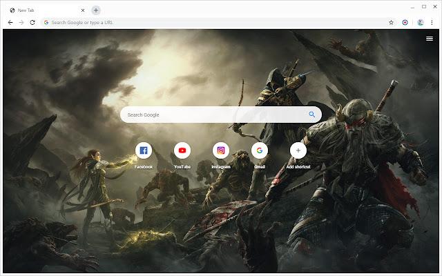 New Tab - The Elder Scrolls Online