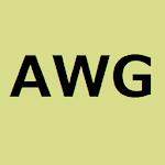 AWG (American Wiire Gauge)  Table 1.04