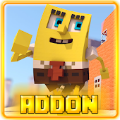 Addon for Minecraft Spongebob