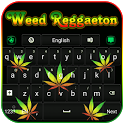 Weed Reggaeton Keyboard icon