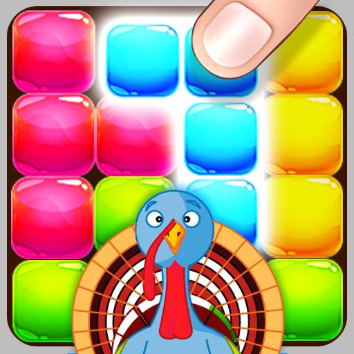 キャンディブロック感謝祭の楽しみ 休閒 App LOGO-APP試玩