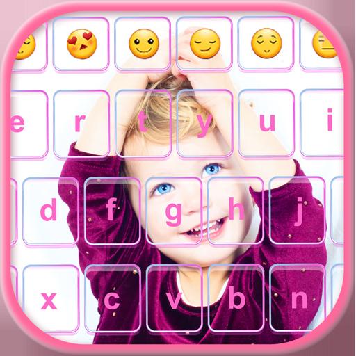 My Photo Emoji Keyboard Cover