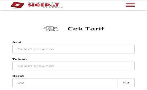 Cek Ongkir SiCepat screenshot 4