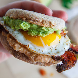 Huevos Rancheros Breakfast Sandwich Recipe