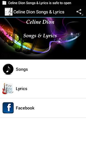 Celine Dion Songs Lyrics