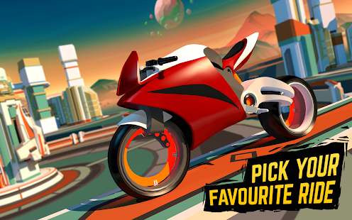 Gravity Rider: Space Bike Racing Game Online for PC-Windows 7,8,10 and Mac apk screenshot 6