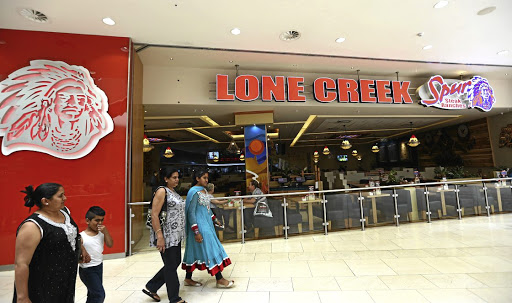 The Spur Lone Creek Steak Ranch at Mall of Africa in Midrand. Picture: MASI LOSI