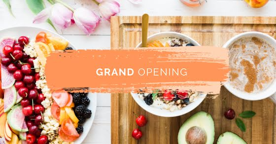 Grand Opening - Facebook Event Cover Template