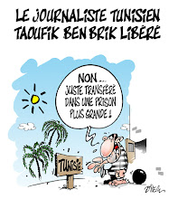 Photo: 2010_Libération de Taoufik Ben Brik