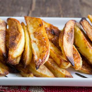 Garlic Rosemary Baked Steak Fries