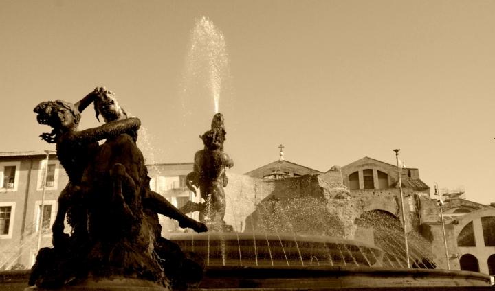 Fontana delle Naiadi Roma di Liliana