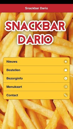 Snackbar Dario