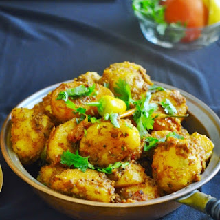 Curry Spiced Baby Potatoes