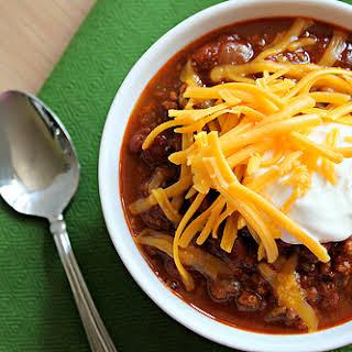 Traditional Chili.