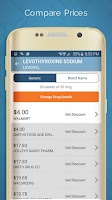 Screenshot of LowestMed Rx Price Tool, Card