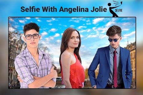 Angelina Jolie Selfie Photo Editor - Hot Actress - náhled