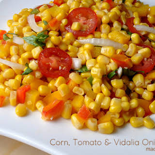 Corn Tomato Salad w/Vidalia Onions.