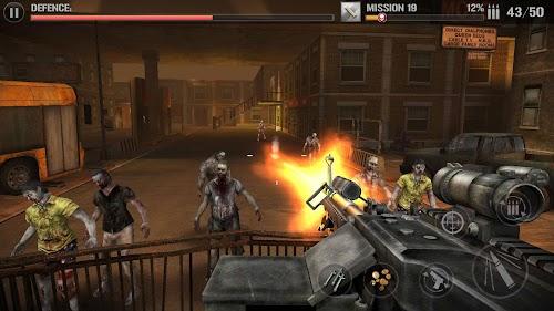 Screenshot 2 Zombie Defense Force-3d zombies hunting king 1.0.7.1 APK MOD