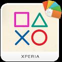 XPERIA™ - DUALSHOCK™4 Theme icon