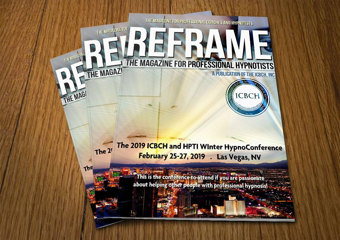 Free Access to Reframe: The Magazine for Professional Hypnotists!