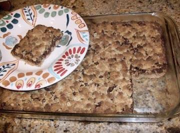 Caramel-peanut Butter Bars Recipe