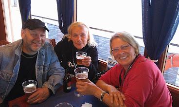 Photo: Båtutflykten till Viikinsaari