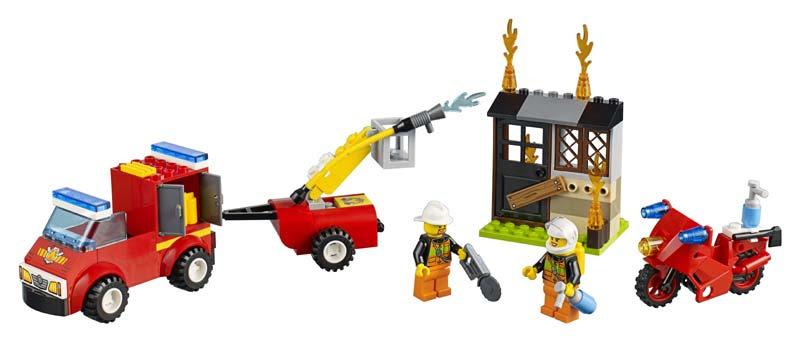 Contenido de Lego® 10740 Maletín de Patrulla de Bomberos