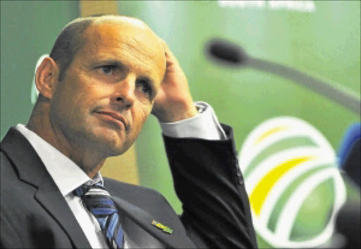 WEATHER AND WICKETS:                     Coach Gary Kirsten says NZ conditions are as  unpredictable as ever.        PHOTO: GALLO IMAGES