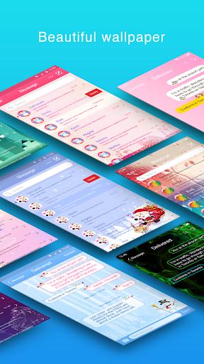 Messaging+ 7 Free - SMS, MMS 5.55 screenshots 1