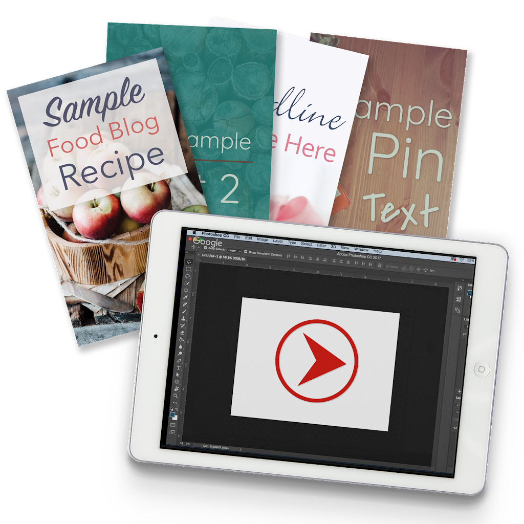 Grab your FREE Photoshop Pin Template + Instructional Video Here