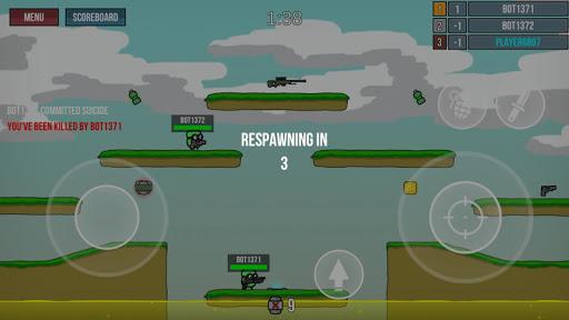 Micro Wars - Battle Arena Screenshot