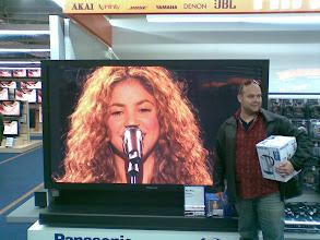 Photo: dat is groot (de tv dan he ;-)