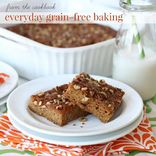 Almond Flour Pecan Praline Pumpkin Bars