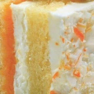 Orange Dream Creamsicle Cake.