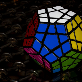 Megaminx by Hannes Kruger - Artistic Objects Toys ( pentagon, megaminx, color, table top, cube,  )