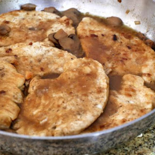 Turkey Cutlets Marsala