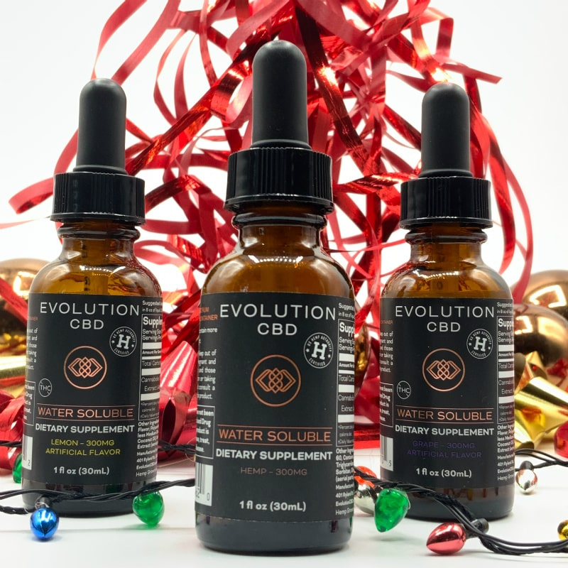 CBD packages for the holidays
