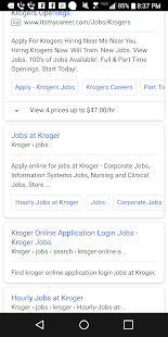 Job Finder Free - náhled