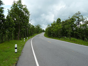 Photo: road Mae Hong Son to Mae Sariang - great new road after leaving Khun Yuam with european scenery