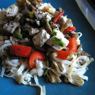 Hoisin Eggplant Noodles