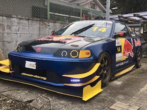 CR-X  SiR改 CRX-GTのカスタム事例画像 manzo.racing.14さんの2018年11月13日20:07の投稿