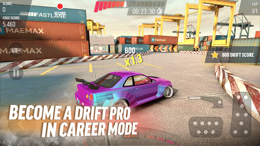 Drift Max Pro - Car Drifting Game with Racing Cars  screenshots 1