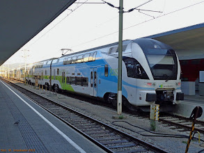 Photo: Stadler KISS (WESTbahn), Wien Westbf - Salzburg Hbf {Wien Westbf; 2013-08-17}