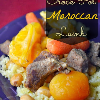Crock Pot Moroccan Lamb